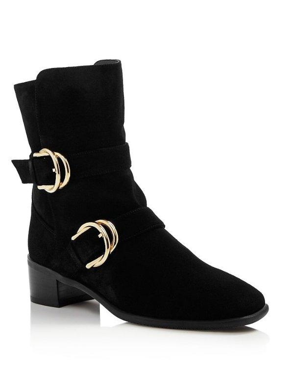 Britain 踝靴