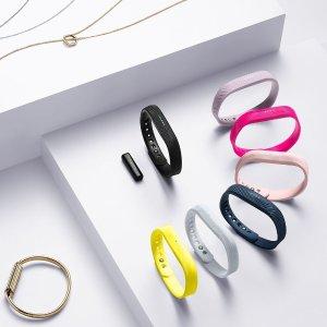 $58.95 部分店内粉色款仅需$15Fitbit Flex 2 黑色高颜值运动手环