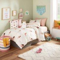 Pillowfort™ 美人鱼图案夹被+枕巾