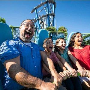 低至$39  网上购票最高省$84奥兰多海洋世界 全新项目Infinity Falls揭幕大促