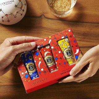L'Occitane Holiday Hand Cream Trio @ Amazon