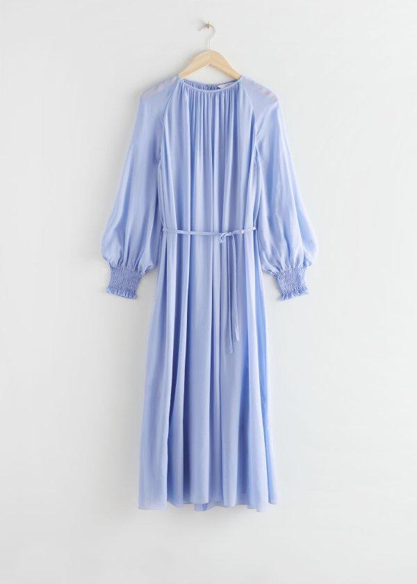 连衣裙系带