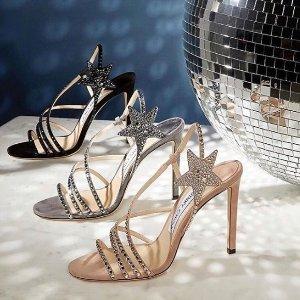 低至4折+送礼卡 收星星高跟鞋Jimmy Choo 美鞋超值热卖 收超美亮片鞋