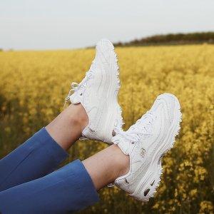 低至5折 封面款$60Skechers官网 周末闪促 超高颜值平价老爹鞋