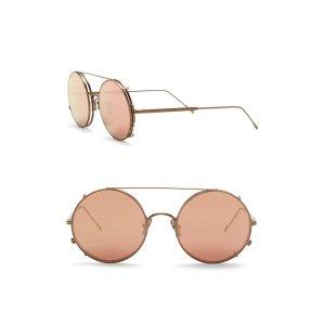 e52ea4b77b4e Karen Walker Simone Sunglasses. Sunday SomewhereValentine 53mm Round  Aviator Sunglasses