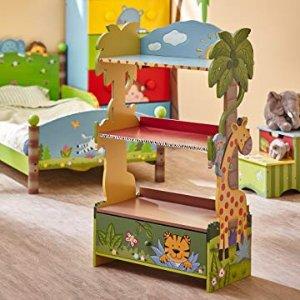 $77.28(原价$103.99)+包邮Fantasy Fields W-8268A 儿童书架,森林和动物主题