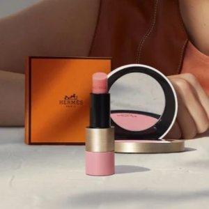 即将上市新品预告:Hermes 春季玫瑰限定彩妆上新 奶乎乎的桃粉系列