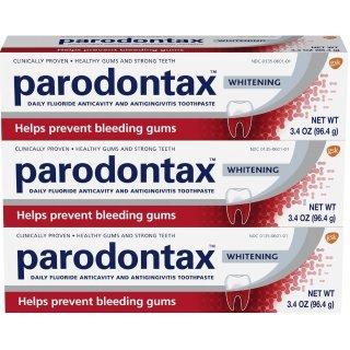 $11.94 包邮Parodontax 专治牙龈出血牙膏 美白款 3支装
