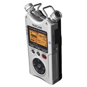 $109Tascam DR-40 4音轨 手持便携录音笔