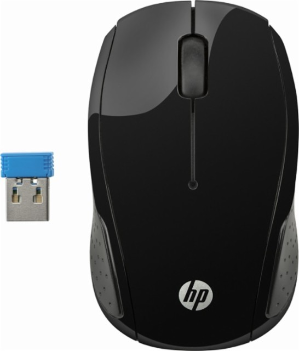 $6HP 200 Wireless Optical Mouse