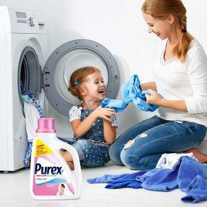 $5.67 (原价$9.77)史低价:Purex 婴幼儿专用洗衣液 2.26 L 专为宝宝柔软肌