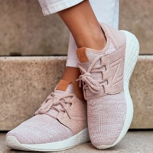 一律$32.99(原价高达$100)包邮New Balance 超舒适泡沫大底Cruz v2潮鞋折上折 男女款都有