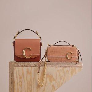 低至5折 $379收马鞍包折扣升级:Chloe 时髦包包热卖,温柔的配色,封面款$593