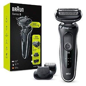 Braun附带剃胡须刀头5系 剃须刀套装