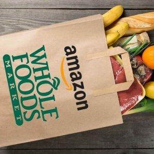 9折+每周指定商品特别优惠Amazon Prime新福利 Whole Foods 商品享折扣