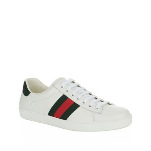 Gucci美国定价$630小白鞋