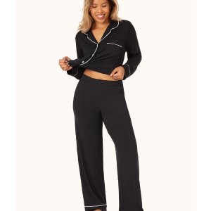 2 lounge tops and/or bottoms for $68The All-Day Lounge Pant: Jet Black