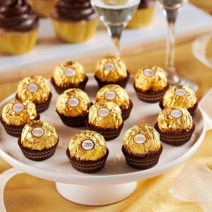 Buy 1 Get 1 FreeFerrero Rocher Fine Hazelnut Chocolates, 5.3 OZ, 12 CT