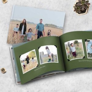 Free20-page 8x11 Hardcover Photo Book @ Snapfish