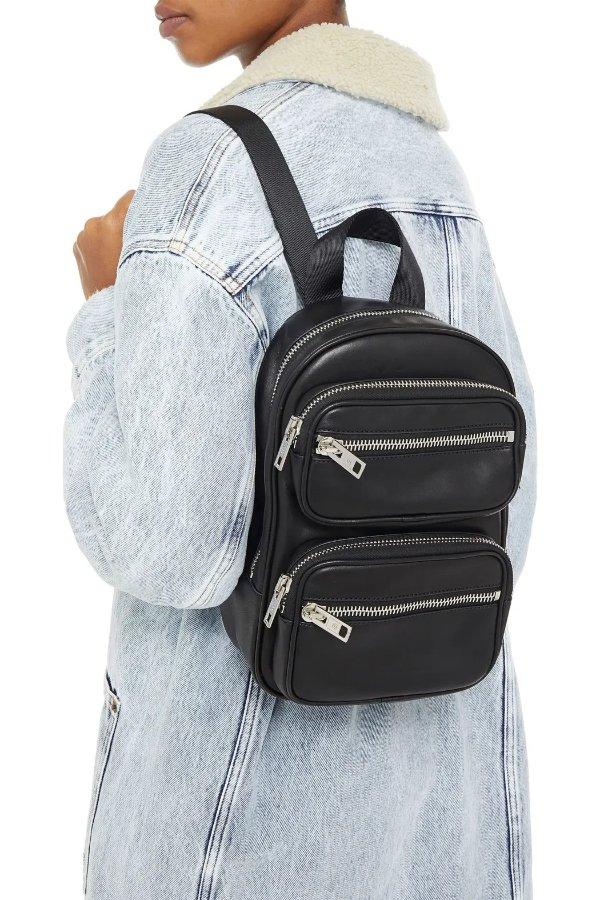 Attica leather 双肩包