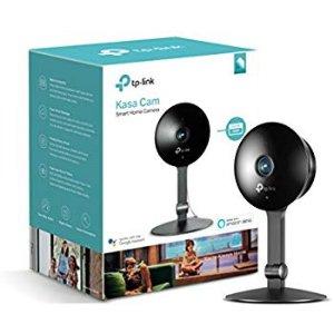$69.99 (原价$99.99)史低价:TP-Link Kasa Cam 1080p 智能家庭安全监控摄像头