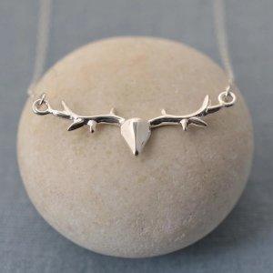 Lily charmed鹿角项链