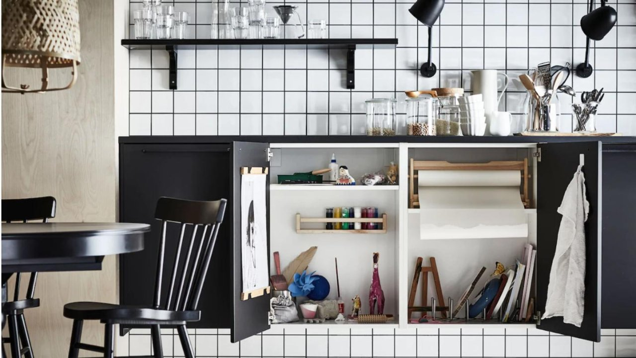 宅家季|来看看IKEA的家居生活&家居收纳好物(厨房收纳篇-收纳桌/收纳推车/收纳箱)