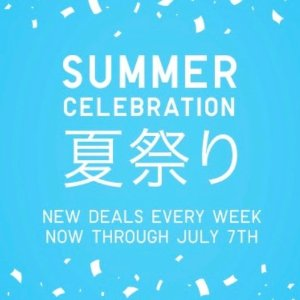 Starting from $7.9Summer Sale @ Uniqlo