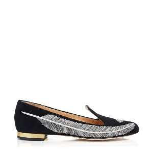 Charlotte OlympiaWomen's Designer Flat Shoes |- SANDRA