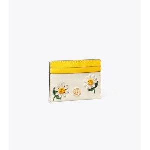 Tory Burch花朵卡包