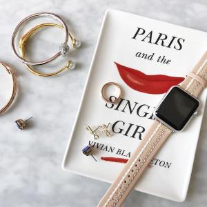 送可爱雨伞 让你的Apple Watch与众不同kate spade 多彩表带、智能手表热卖