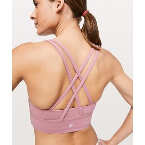 LululemonEnergy Bra Long LineFinal Sale