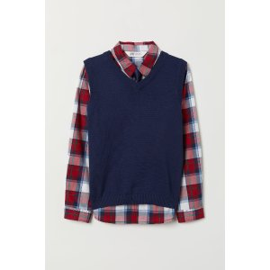 H&MShirt and Sweater Vest