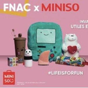 €5.99起收上新:MINISO 登陆FNAC 家居电子好物热卖 可爱到犯规