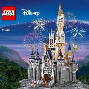 $399.99+双重好礼补货:LEGO官网 迪士尼城堡 71040 共4080颗粒
