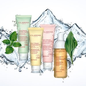 15% OffDealmoon Exclusive: Clarins Cleansers & Toners Hot Sale