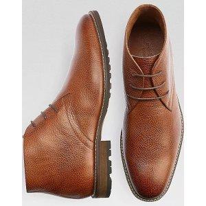 Carlo Morandi Tan Chukka Boots