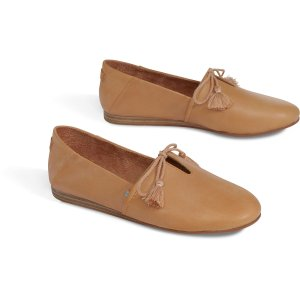 Toms折扣区价格按额外减$15估算蜜糖色绑带小单鞋