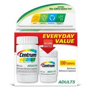 $6.94(原价$8.18)善存综合维生素130粒装 适合50岁以下人群