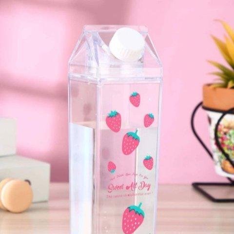 满额最高享8折 €0.9收樱花杯垫高颜值水杯、杯垫 仙女喝水也美美哒 €5.85收草莓牛奶杯