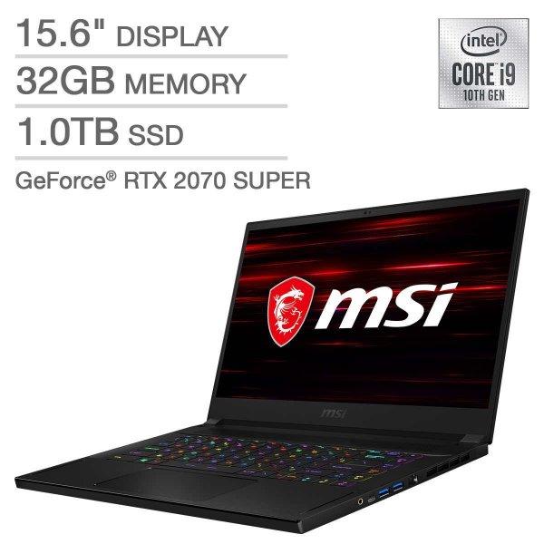 GS66 游戏本 (i9-10980HK, 2070 Super Max-Q)