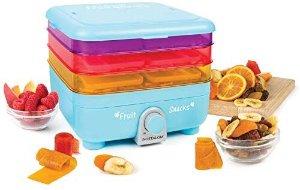$29.29史低价:Nostalgia 水果干脆片、水果卷等零食制造机