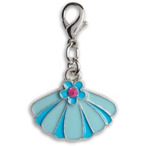 American GirlShiny Seashell Charm for Girls | WellieWishers | American Girl