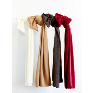 $30 Off $150Cashmere Solid Color Scarf