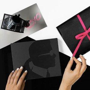 独家8折 收6样彩妆新品KARL LAGERFELD X MODEL CO 限量版彩妆盒热卖