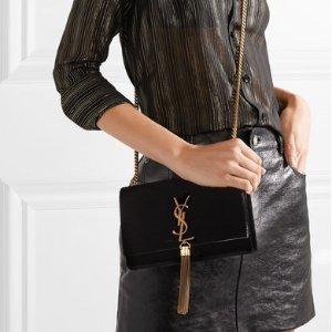 9折 收金流苏链条包Saint Laurent 精选美包、美鞋热卖 收大幂幂同款高跟鞋