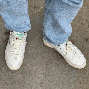 新品正价7.5折 超舒适Reebok官网 Club C 85 复古小白鞋安利 博主宠儿