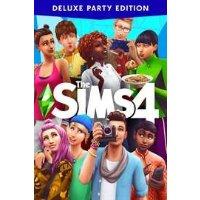 Microsoft 模拟人生4 豪华派对版 Xbox One 数字版