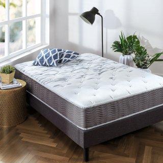 $187.10Zinus 睡眠大师超硬记忆棉弹簧10英寸床垫 Queen