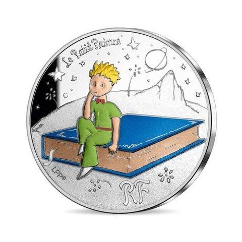 €5.5起收 全球可邮寄巴黎货币管理局 x 《小王子》75周年限量版纪念币